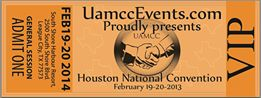 UAMCC VIP Ticket