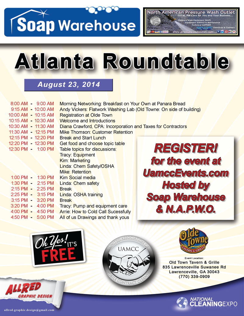 Atlanta Roundtable Schedule